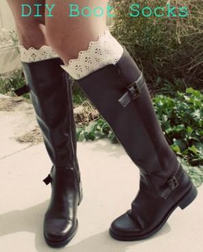diy bootsocks
