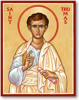 OCT 1 & 2: 20TH SUNDAY AFTER PENTECOST & COMMEMORATION OF ST. THOMAS – APOSTLE