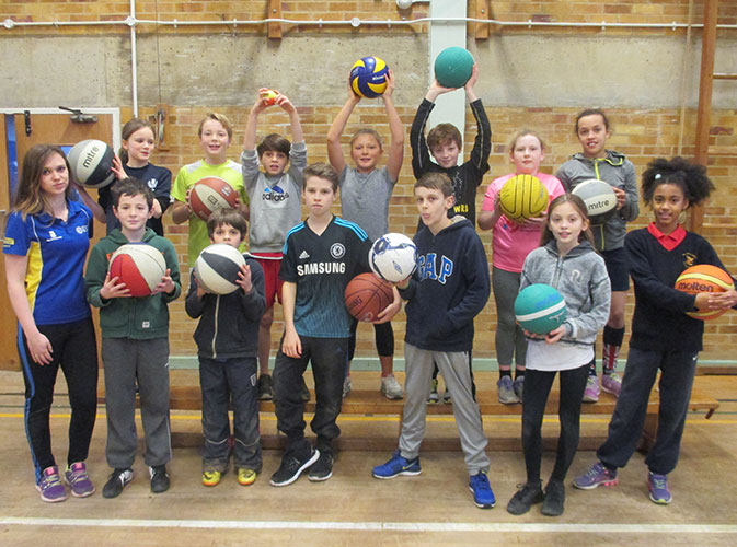 St Mark's School hosts Gifted and Talented Primary Athletes