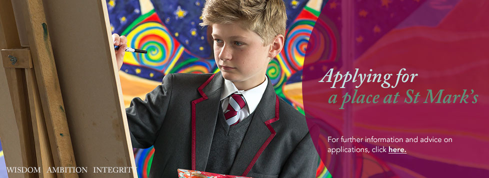 Applying for a place at St Mark's School for September 2016