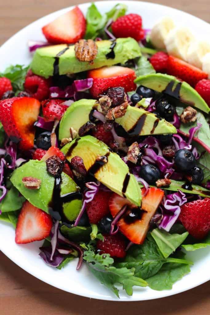 Mixed Berry And Banana Fruit Salad Recipes — Dishmaps