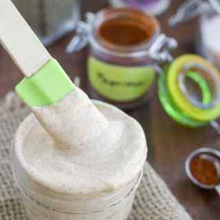 We put this southwest ranch greek yogurt sauce on burgers, sandwiches, wraps...basically everything! Super creamy, and is ready in only 2 minutes! This seasoning mix is a much better option than the seasoning ranch packets you buy at the store!