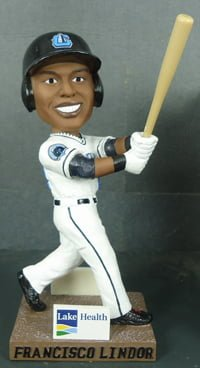 Franscico Lindor Bobblehead_Lake County Captains_8-23-14