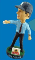 Tom Carper Bobblehead - Wilmington BlueRocks - Kansas City Royals
