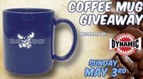 coffee mug - blue rocks