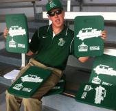 seat cushion - clinton lumberkings - seattle mariners