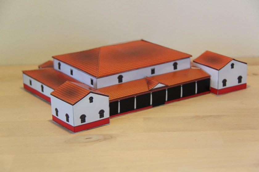 Modell einer Villa Rustica, erhältlich im Griesheimer Museum