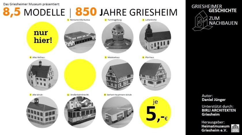 9 Modelle von Griesheim