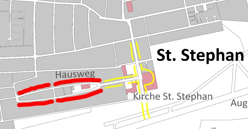 Stadtplan St. Stephan