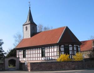 Fachwerkkirche in Worfelden