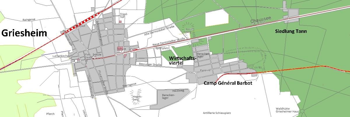 Weitere Infos zur Eisenbahnstrecke in die Griesheimer Militärflächen