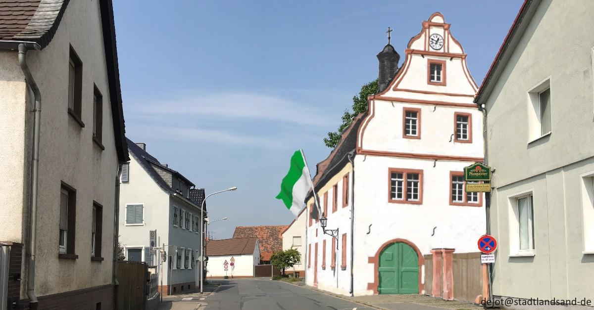 Wie würde das alte Rathaus von Griesheim heute aussehen?