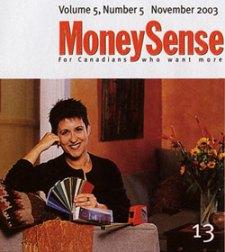 Debra Gould in MoneySense Magazine