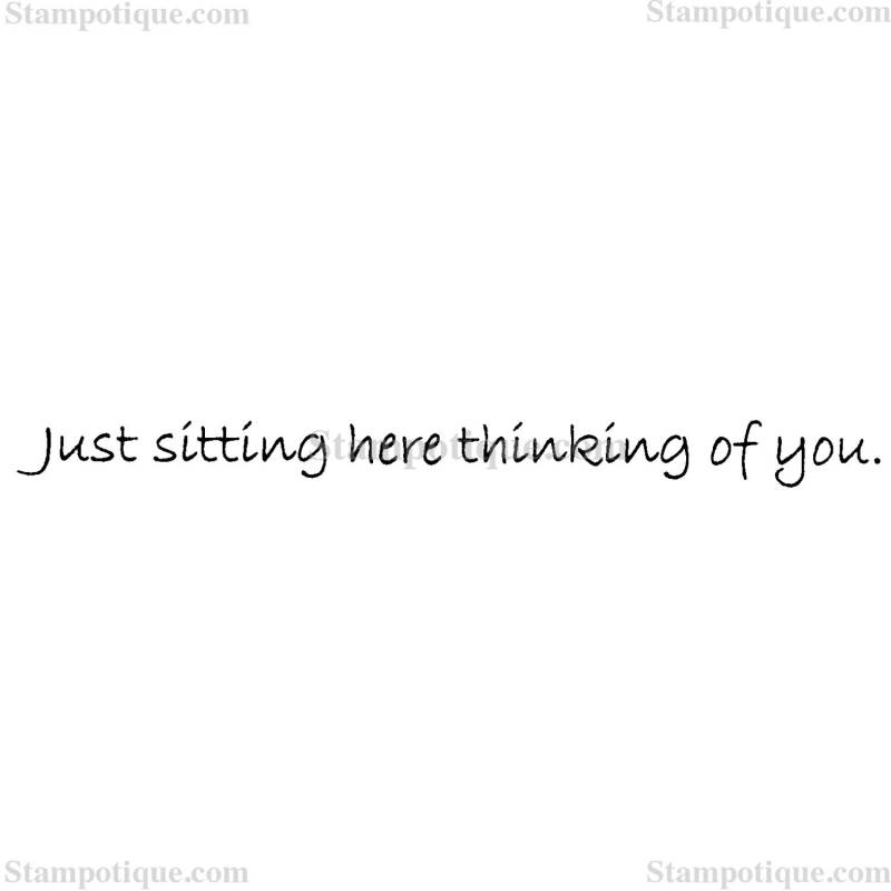 Large Of Just Thinking About You