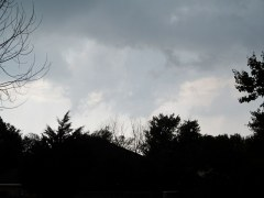 tornado funnel cloud