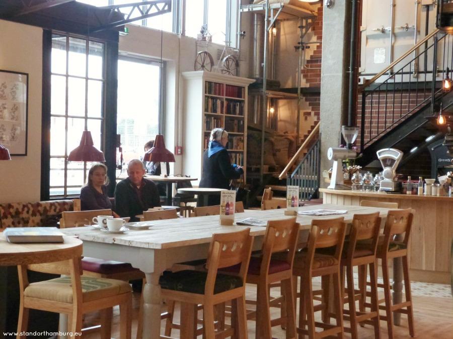 Kaffee und Kuchen in Hamburg - Bruegmann - Standort Hamburg