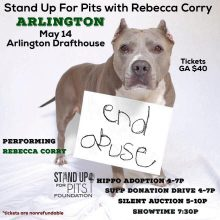 Stand Up For Pits ARLINGTON tickets available NOW!