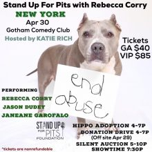 Stand Up For Pits NEW YORK tickets are going fast!!