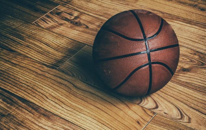 Basketball on Hardwood 1