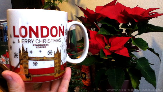 Starbucks 2010 London Christmas Mug