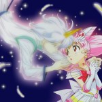 Sailor Mini Moon and Helios