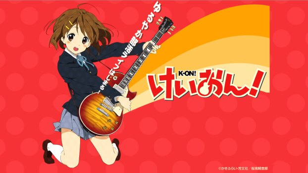 k-on yui jumping