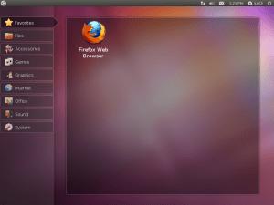 ubuntu - netbook look and feel
