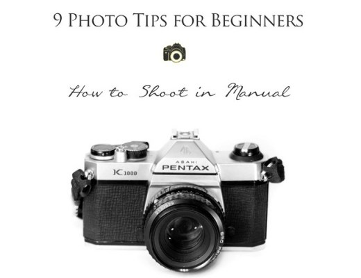 how to shoot in manual on a digital camera
