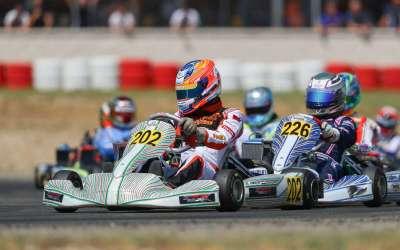 Chaotische kwalificatie bezorgt Rinus van Kalmthout zwaar weekend in Rotax Max Euro Challenge