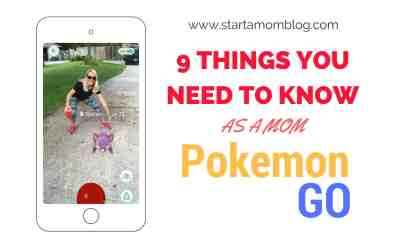 Pokémon Go: 9 Things You Need to Know as a Mom