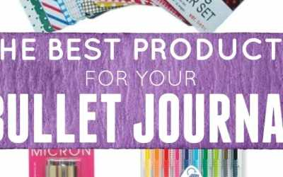 The Best 5 Bullet Journal Products