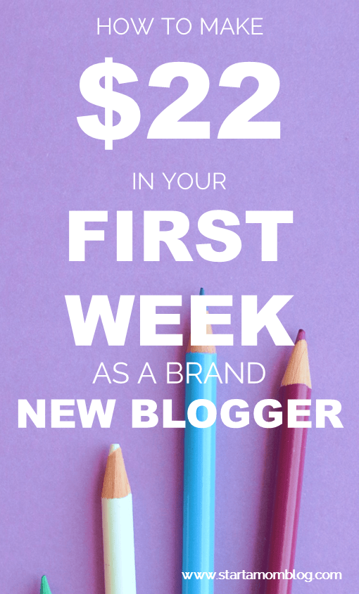 how to make money as a beginning blogger