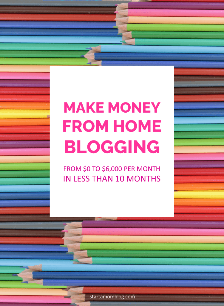 How to make money from home blogging