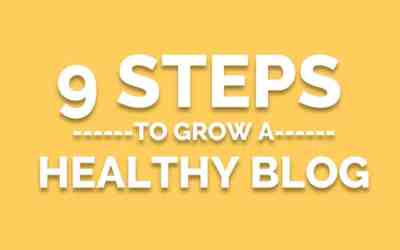 First Steps to Starting a Blog – The 9 Step Plan