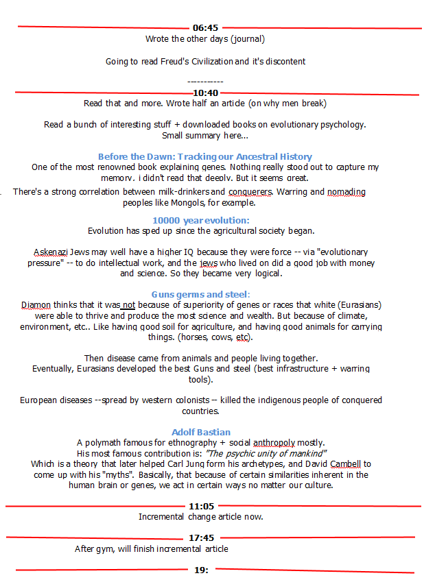 time-log journal sgm