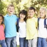 children and standing desks