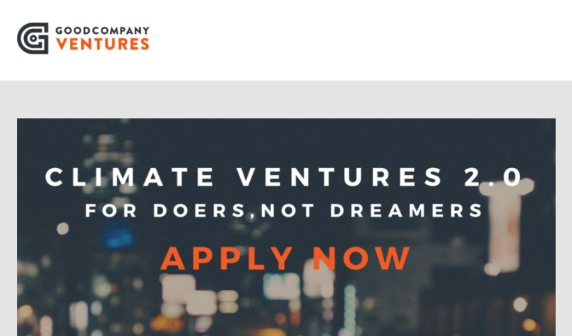 Good Company Ventures Social Entrepreneurship Fellowship StartupDotPk