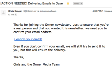 Chris Brogan email marketing