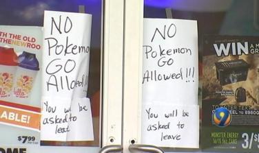 No Pokemon Go Allowed