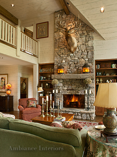 ... Ambiance Interiors Asheville Interior Design Traditional Living Room 2  ...