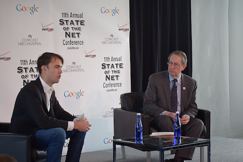 Fred Ehrsam of Coinbase & Rep Bob Goodlatte Discuss Bitcoin and Innovation