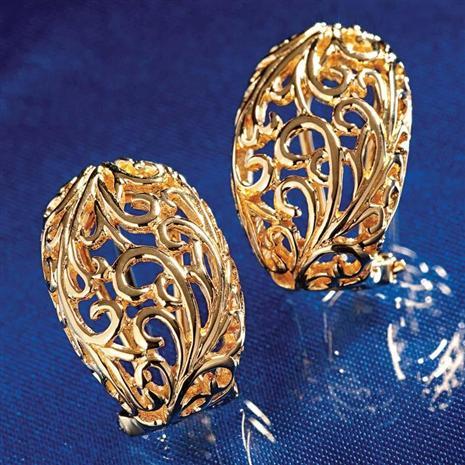 14K Gold Vermeil Florence Earrings