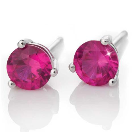 Scienza Ruby Stud Earrings