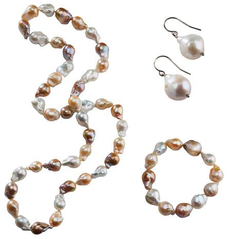 Perola Baroque Pearl Set