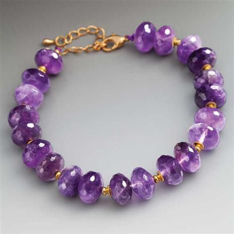Rustica Amethyst Bracelet