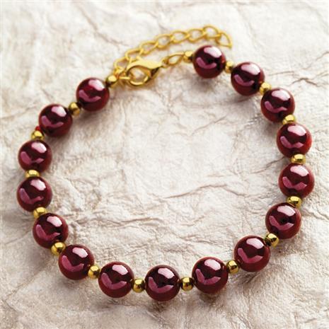 Aphrodisia Garnet Bracelet