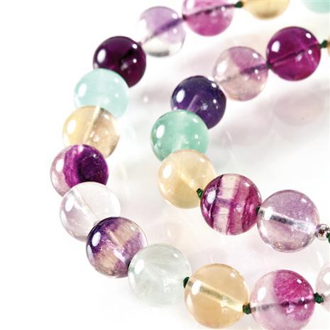 Celestial Fluorite Necklace