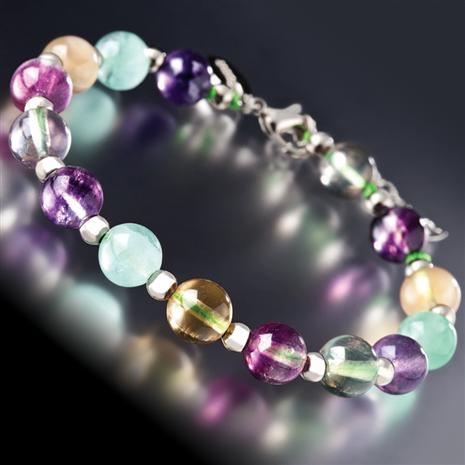 Celestial Fluorite Bracelet
