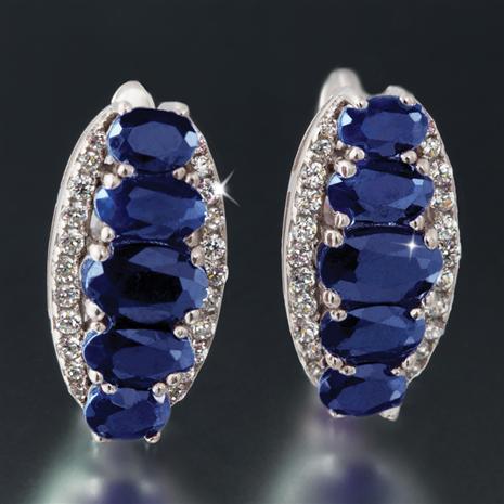 Amoris Sapphire Earrings