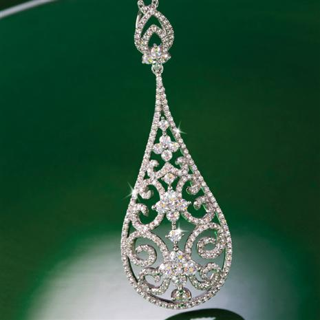 DiamondAura Drop Necklace